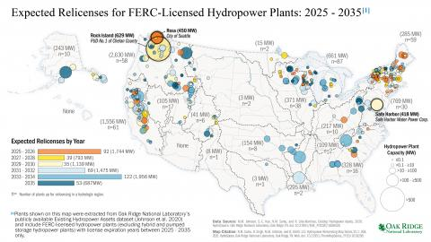 U.S. Hydropower Relicensing Map Series V1.1