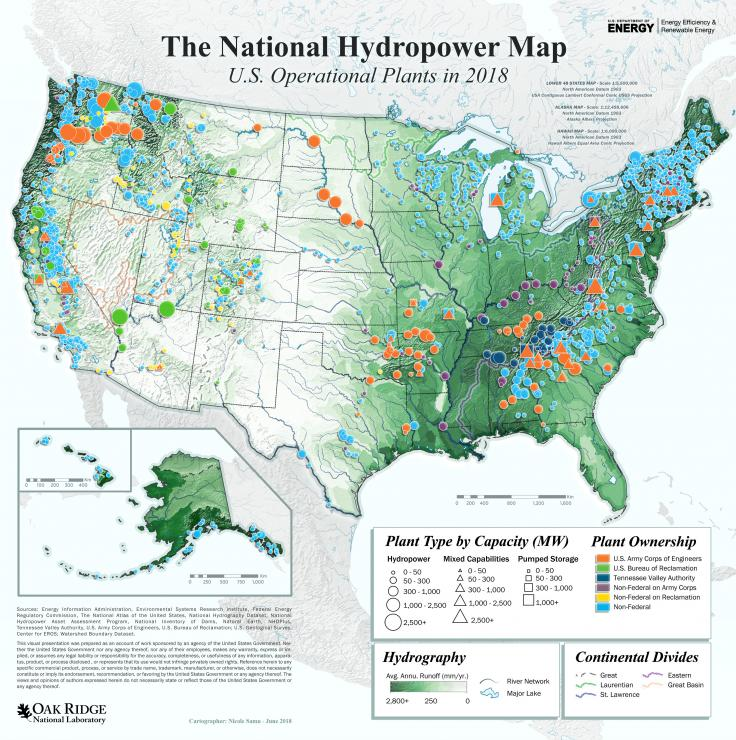 National Hydropower Map 2018
